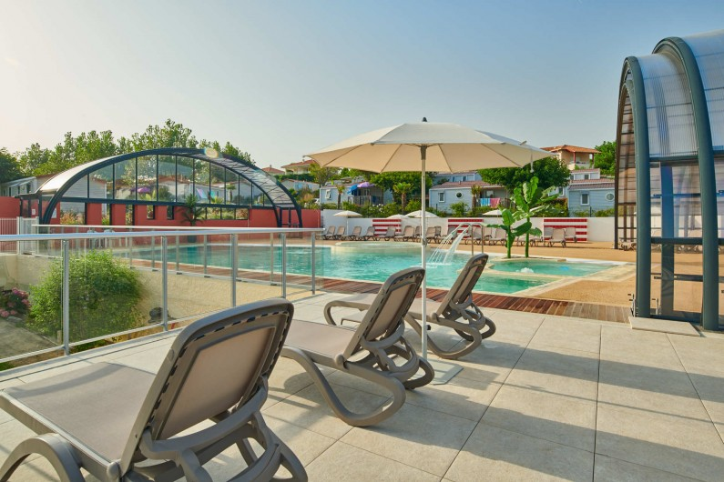Location de vacances - Camping à Biarritz - Espace aquatique - Biarritz Camping Pays Basque