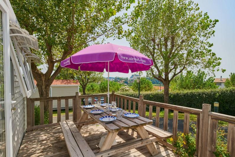 Location de vacances - Camping à Biarritz