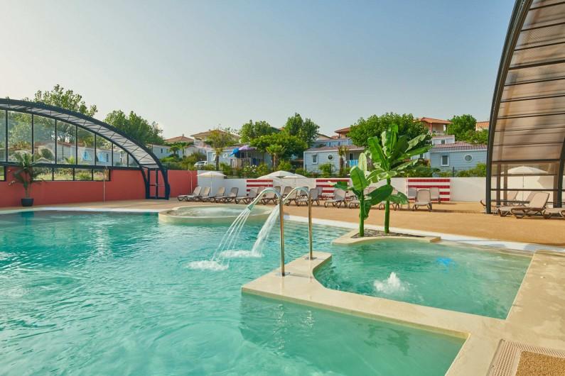 Location de vacances - Camping à Biarritz - Espace aquatique - Biarritz Camping