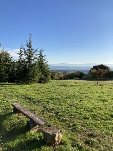 Location de vacances - Chambre d'hôtes à Saissac - Une vue panoramique