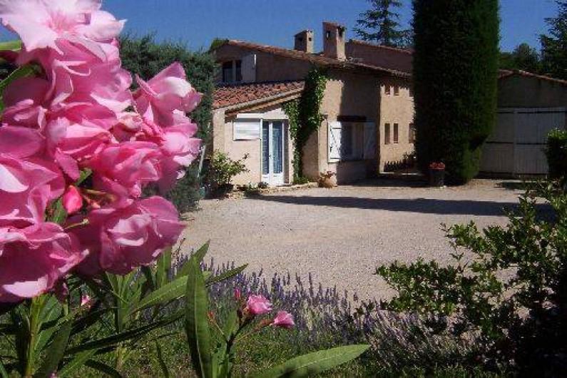 Location de vacances - Villa à La Cadière-d'Azur - PARKING FERME