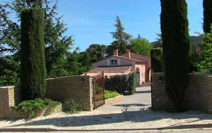 Location de vacances - Villa à La Cadière-d'Azur - ENTREE