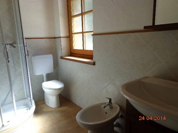 Location de vacances - Chalet à Courmayeur - la premierre salle de bain