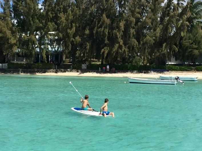 Location de vacances - Villa à Pereybere - Baignade en toute sécurité