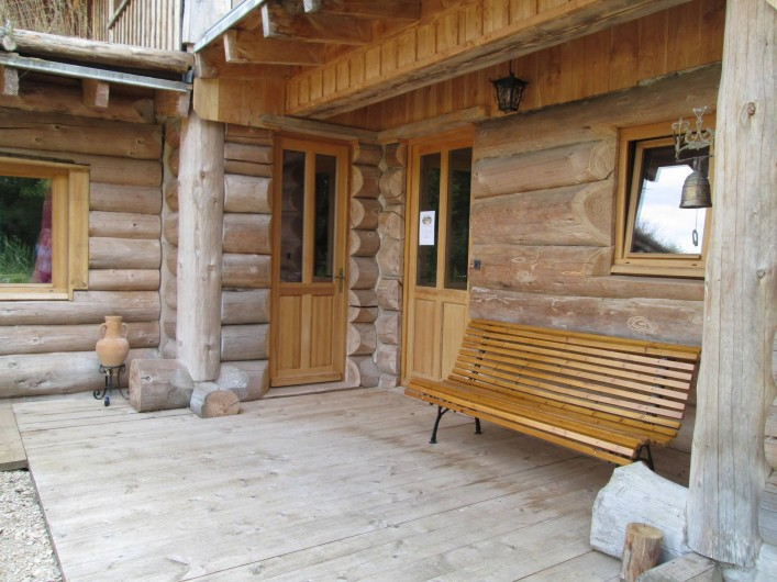 Location de vacances - Chambre d'hôtes à Orconte - Entrée principale