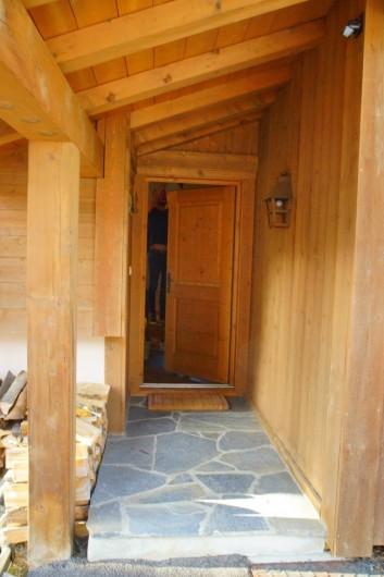 Location de vacances - Chalet à Megève - entrée du chalet