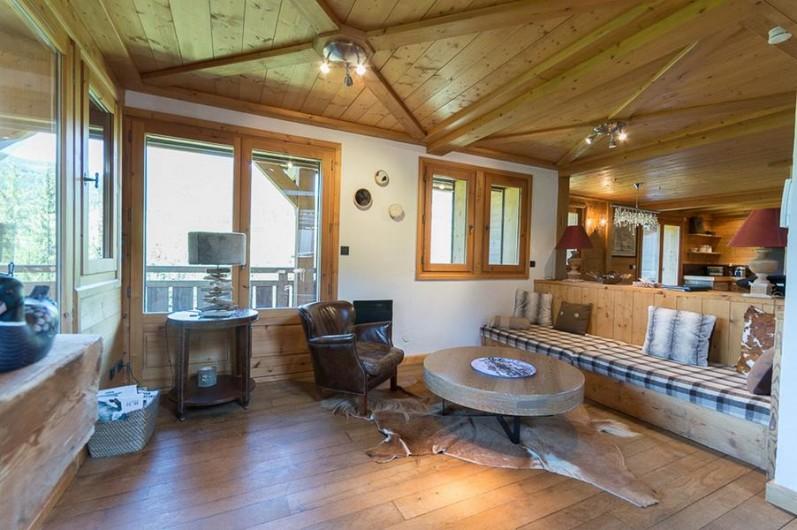 Location de vacances - Chalet à Megève - salon