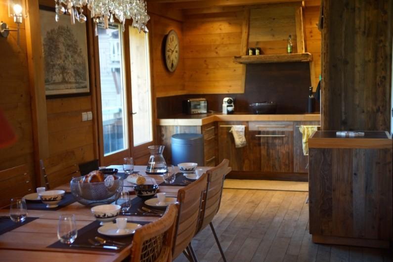 Location de vacances - Chalet à Megève - cuisine tout confort