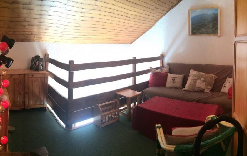 Location de vacances - Appartement à Station de Risoul 1850 - En duplex 2 chambre , un salon et une pièce d'eau