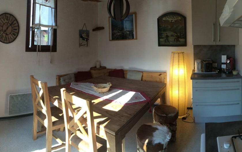 Location de vacances - Appartement à Station de Risoul 1850 - Pour discuter ou jour...