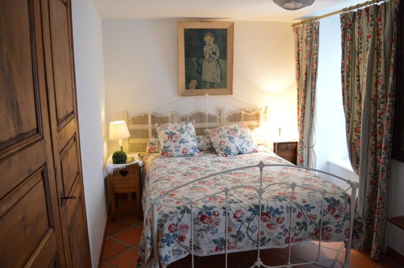 Location de vacances - Appartement à Trézioux - 1ere chambre lit double