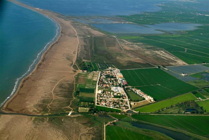 Location de vacances - Chalet à Amposta - Plage des Eucaliptus et Parc Naturel Delta de l'Ebre