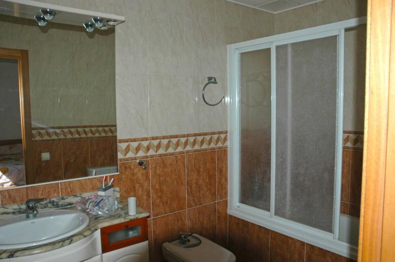 Location de vacances - Chalet à Amposta - salle de bain 1