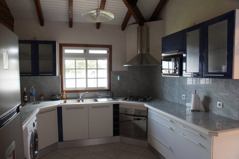 Location de vacances - Villa à Sainte Rose - cuisine