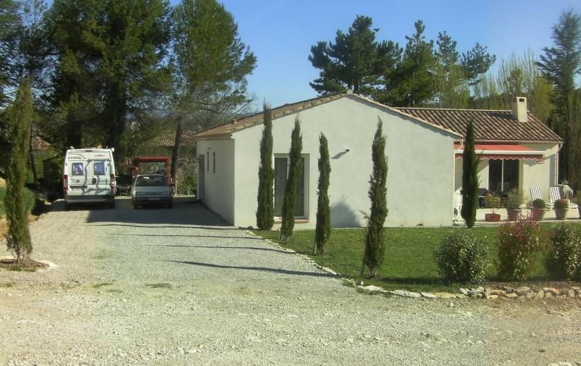 Location de vacances - Villa à Saint-Michel-l'Observatoire - Accès entrée villa