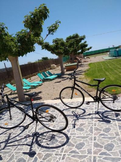 Location de vacances - Chalet à Les Cases d'Alcanar - 3 vélos à l'usage du client