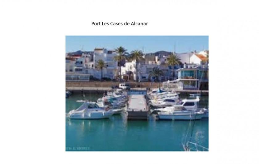 Location de vacances - Chalet à Les Cases d'Alcanar - Port maritime de Casas de Alcanar à 5 minutes de la maison
