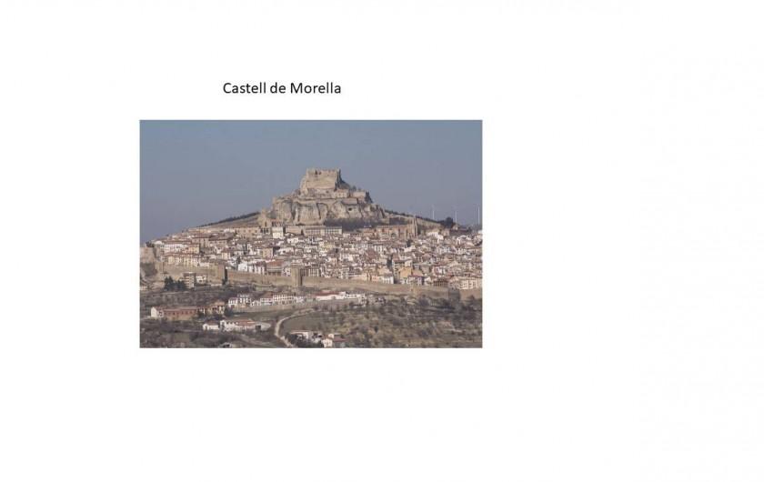 Location de vacances - Chalet à Les Cases d'Alcanar - Château et ville de Morella à 1 heure de la maison