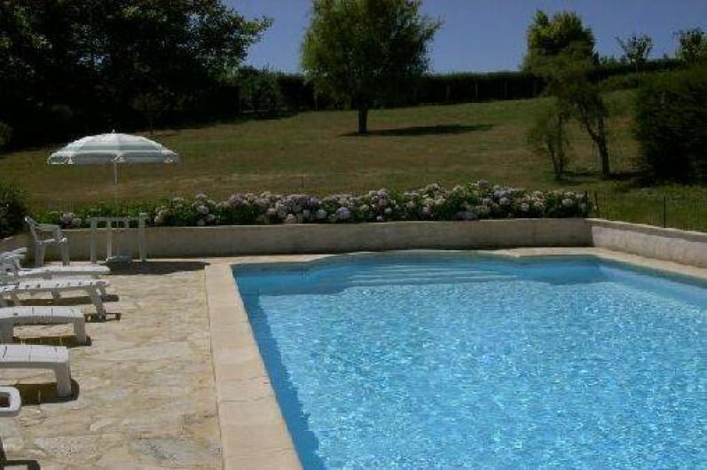 Location de vacances - Maison - Villa à Saint-Martin-de-Seignanx - La piscine et le jardin