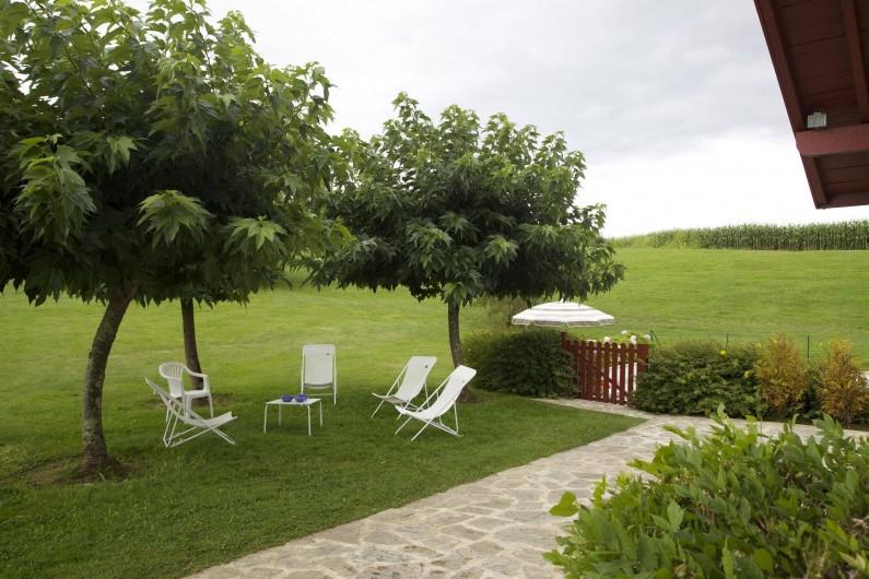 Location de vacances - Maison - Villa à Saint-Martin-de-Seignanx - Le jardin