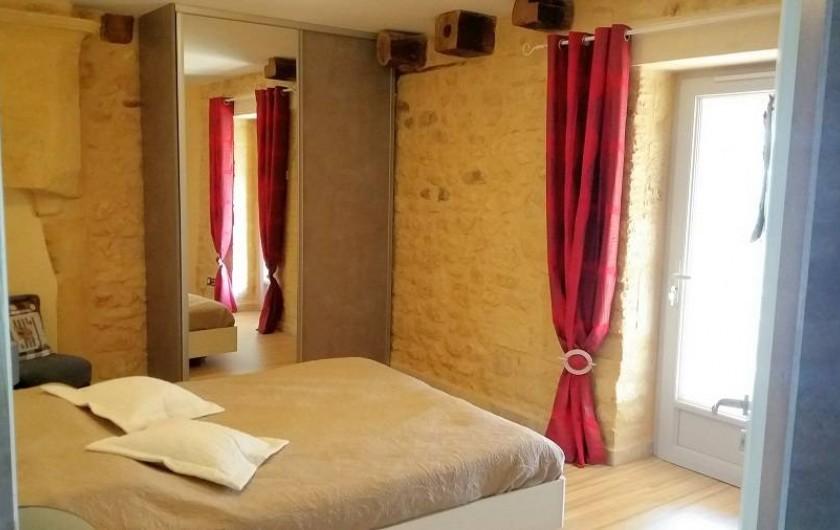 Location de vacances - Gîte à Saint-Avit-Sénieur - Cambre lit 160