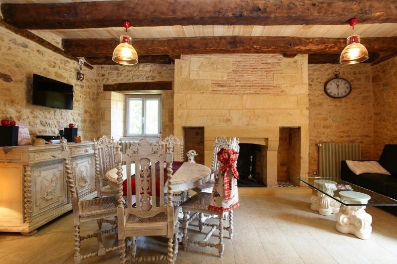 Location de vacances - Gîte à Saint-Avit-Sénieur - La cuisine