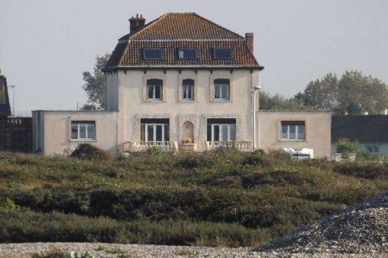 Location de vacances - Appartement à Cayeux-sur-Mer - Vue de la plage
