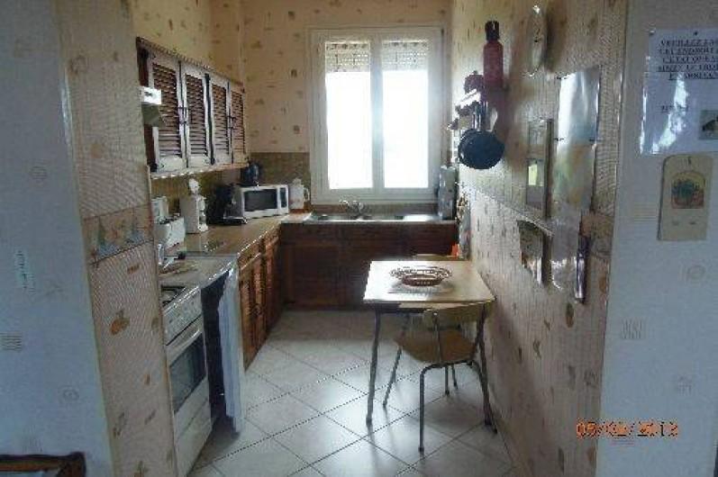 Location de vacances - Appartement à Cayeux-sur-Mer - Cuisine