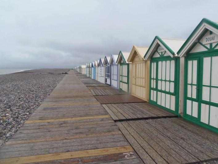 Location de vacances - Appartement à Cayeux-sur-Mer - Les cabines de bain