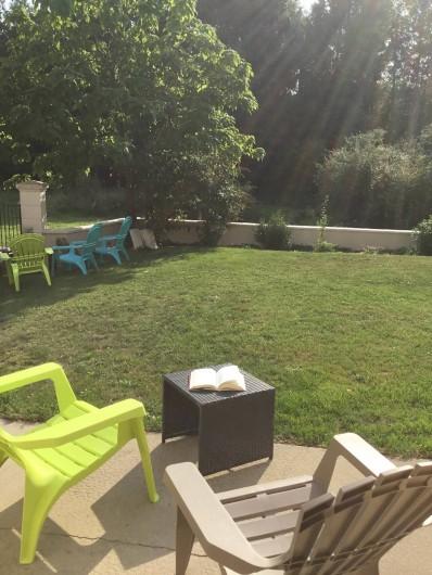 Location de vacances - Gîte à Villandry - Jardin