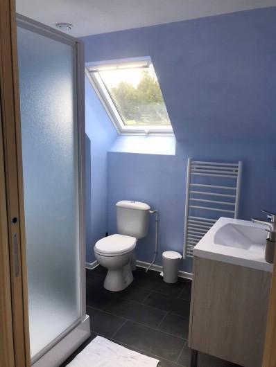 Location de vacances - Gîte à Villandry - Salle de bain/Wc