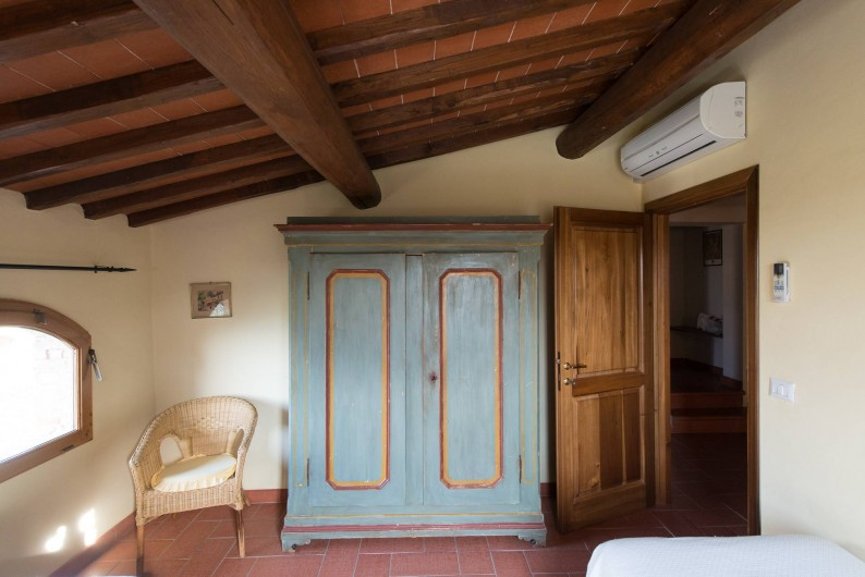 Location de vacances - Chalet à San Casciano in Val di Pesa - A detail of the twin bedroom on the first floor