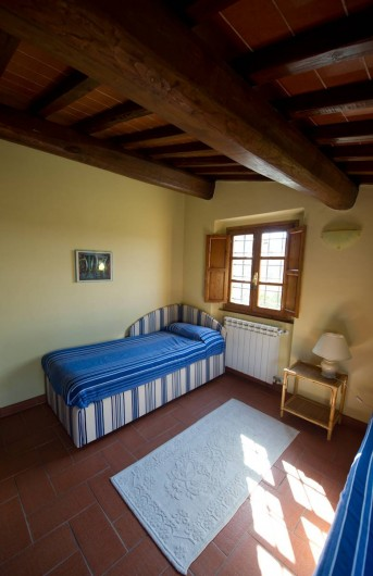 Location de vacances - Chalet à San Casciano in Val di Pesa - Twin bedroom on the first floor