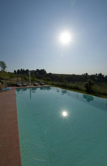Location de vacances - Chalet à San Casciano in Val di Pesa - The swmming pool
