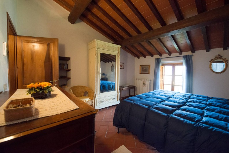 Location de vacances - Chalet à San Casciano in Val di Pesa - The double bedroom on the first floor