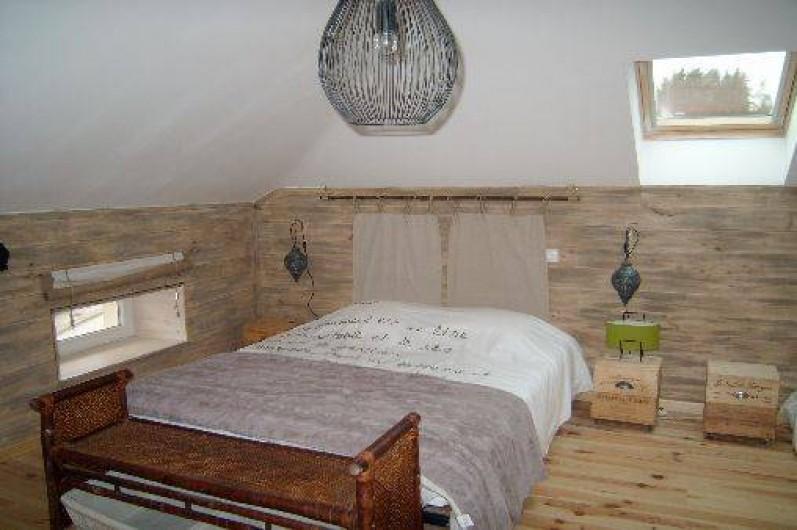Location de vacances - Gîte à Brouvelieures - Chambre ZEN partie GRENIER