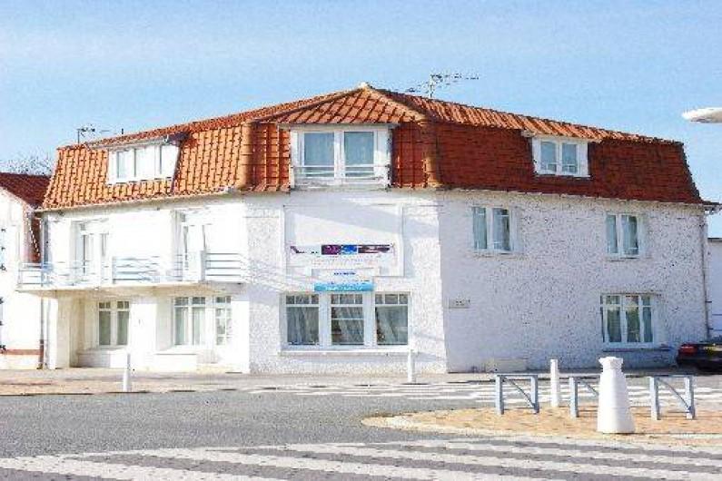 Location de vacances - Maison - Villa à Fort-Mahon-Plage - Vue extérieure au 352 av de la Plage