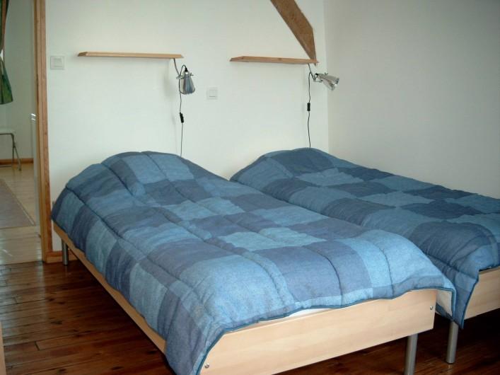 Location de vacances - Maison - Villa à Fort-Mahon-Plage - Appart n°5 ou n°6 Chambre avec 2 lits 1 personne