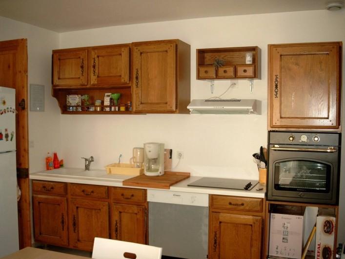 Location de vacances - Maison - Villa à Fort-Mahon-Plage - Appart n°1 cuisine