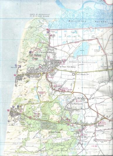 Location de vacances - Maison - Villa à Fort-Mahon-Plage - Carte  des environs