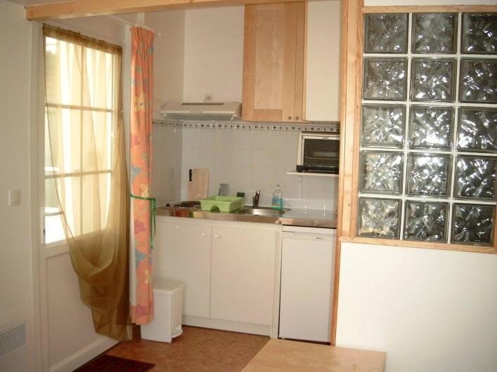 Location de vacances - Maison - Villa à Fort-Mahon-Plage - Studio n°4 cuisine
