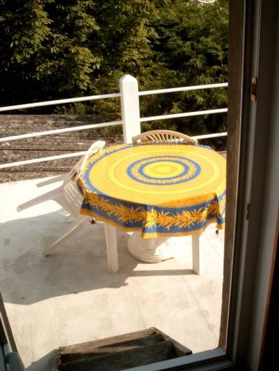 Location de vacances - Maison - Villa à Fort-Mahon-Plage - Studio n°4 terrasse