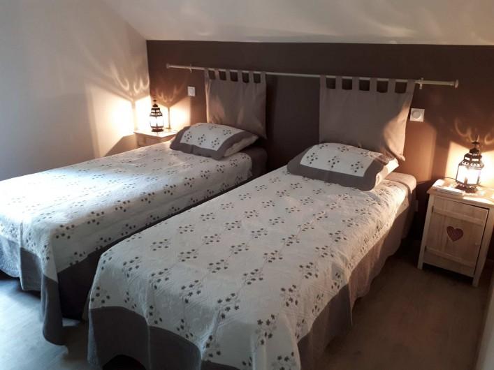 Location de vacances - Gîte à Crouy-sur-Cosson - Chambre version 2 lits 90