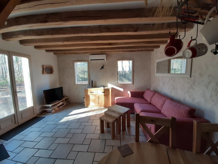 Location de vacances - Gîte à Crouy-sur-Cosson - Salon