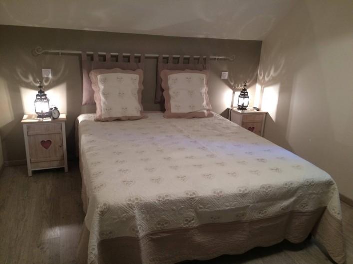 Location de vacances - Gîte à Crouy-sur-Cosson - Chambre lit 1,60