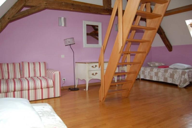 Location de vacances - Gîte à Saint-Médard-d'Excideuil - Chambre 7 duplex avec mezzanine gîte Les Figuiers