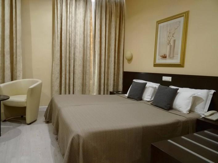 Location de vacances - Hôtel - Auberge à Nice - Chambre Vue Mer Deluxe