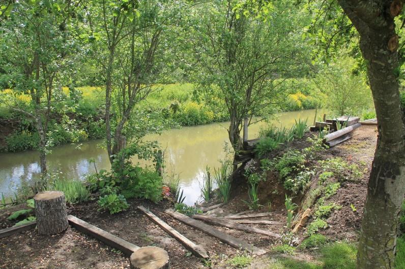 Location de vacances - Maison - Villa à Cercy-la-Tour - Accès rivière