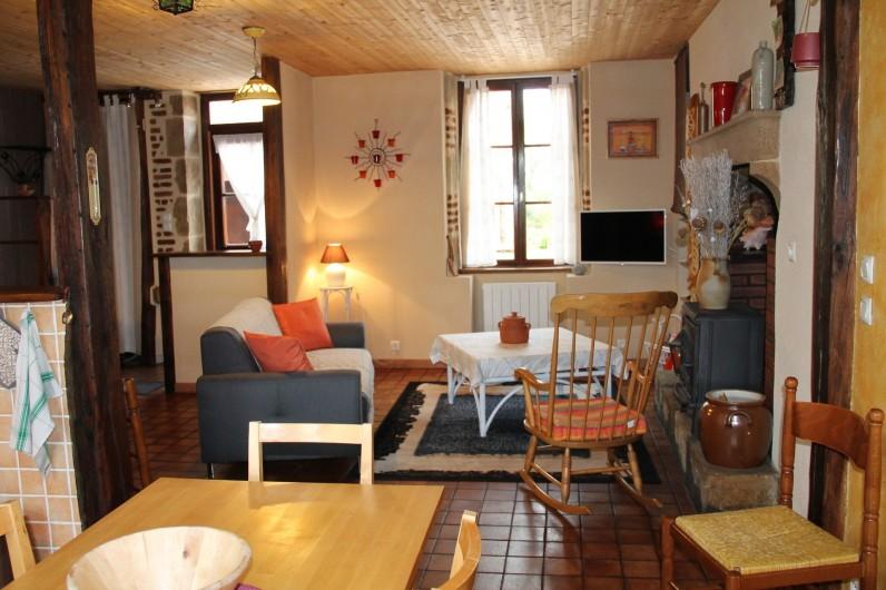 Location de vacances - Maison - Villa à Cercy-la-Tour - Salon