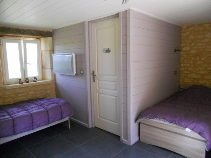 Location de vacances - Gîte à Sergeac - chambre dépendance